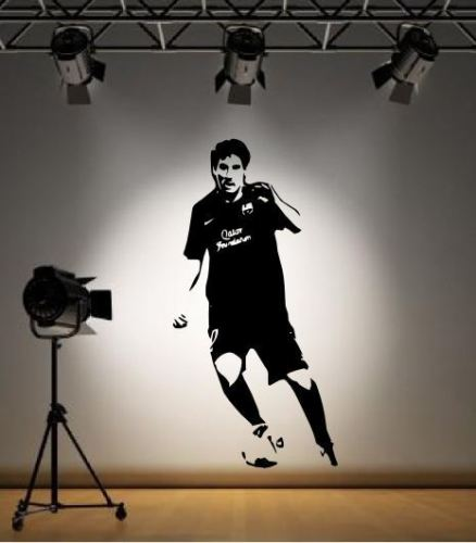 Details about Lionel Messi Barcelona Wall Sticker Decal Footballer La Liga(China (Mainland))