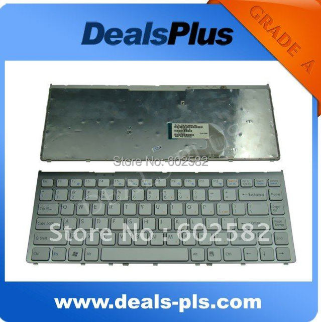 FOR Sony VGN-FW VGN FW Series US Keyboard Layout White