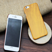 Phone cases luxury Fashion ultra slim Wood grain hard Cover For iphone 4 4s 5 5s 6 6s 6 plus cell phone case accessories