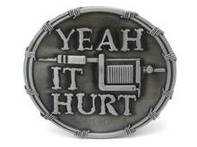 Yeah It Hurt Tattoo Machine Belt Buckle(China (Mainland))