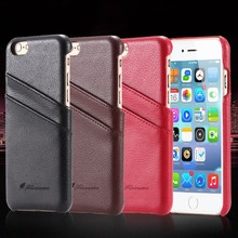 Genuine Brand New Embossed Leather Hard Skin Case with Print and Two TWILL Slots Back Protective Case Free Ship For iPhone 5 5S