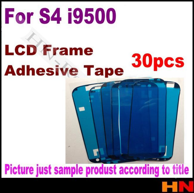 Гаджет  30 pcs for For galaxy s4 i9500 LCD Screen Frame Sticker Glue 3M Sticker Adhesive Tape Repair Replacement None Офисные и Школьные принадлежности