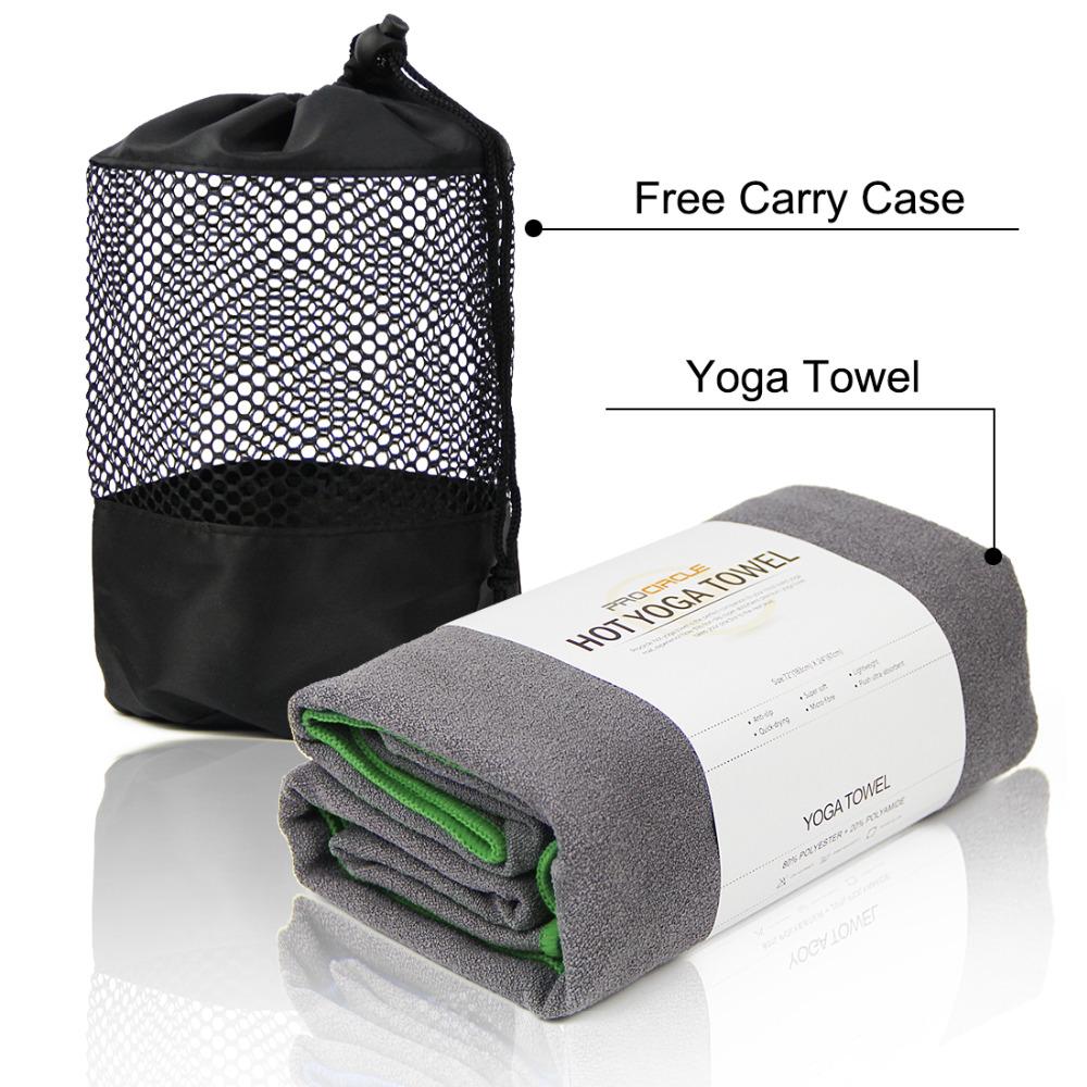"""PROCIRCLE 72 """"x 24"""" Hot Yoga Toalha Toalha de Microfibra Anti-Slip Mat Pilates da Aptidão Do Esporte COM O SACO LIVRE(China (Mainland))"""