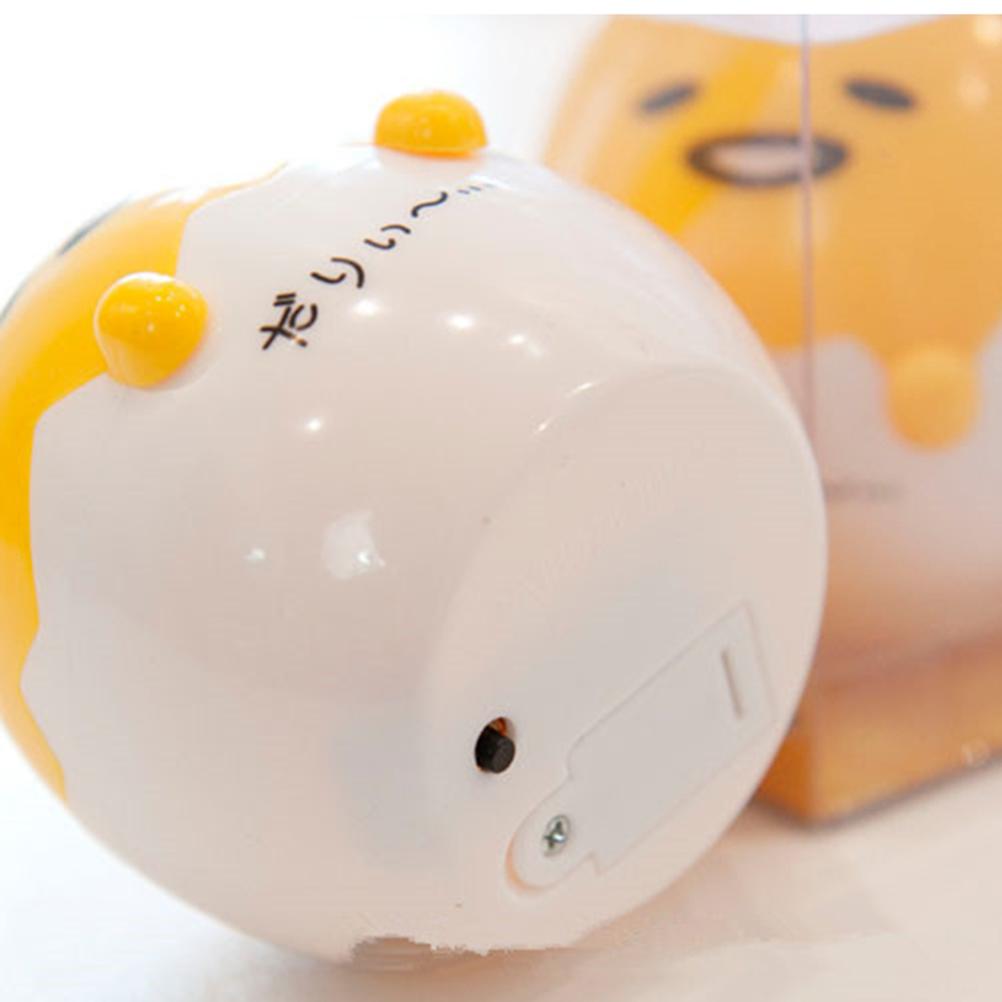 Cute Yolk Egg Led Night Light Children Baby Nightlight Toys Christmas Gift Switch Table Lamp Battery Powered For Kids Gift