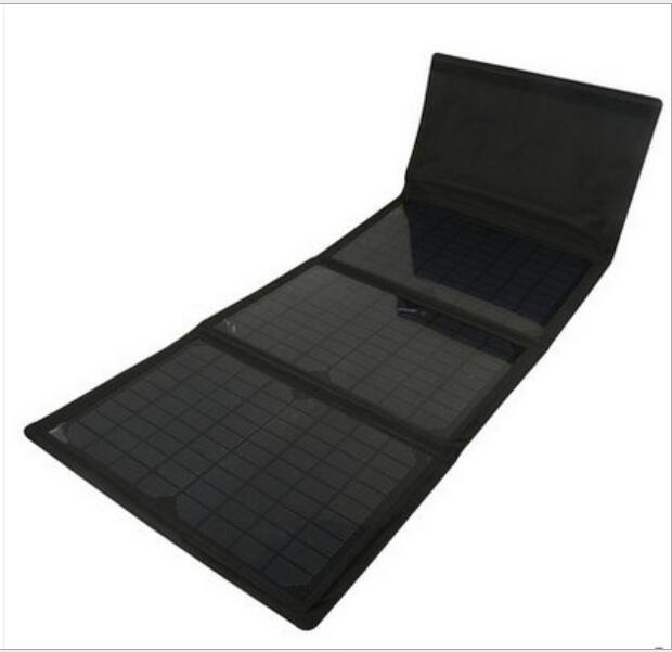 2016 Portable 30W Folding Solar Panel Silicon Charger for Laptop/camera/PSP/Phones/GPS(China (Mainland))