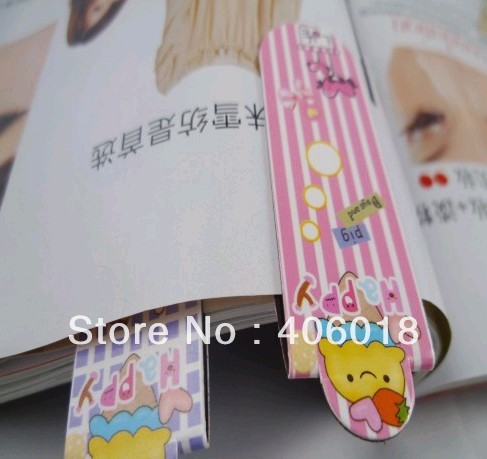 Fashion paper magnetic bookmark --- DH5095(China (Mainland))