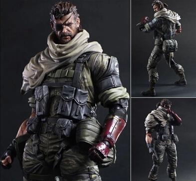 Metal Gear Solid V The Phantom Pain PlayartsKai Toys Venom Snake Collection Model Metal Gear Solid PlayArts(China (Mainland))