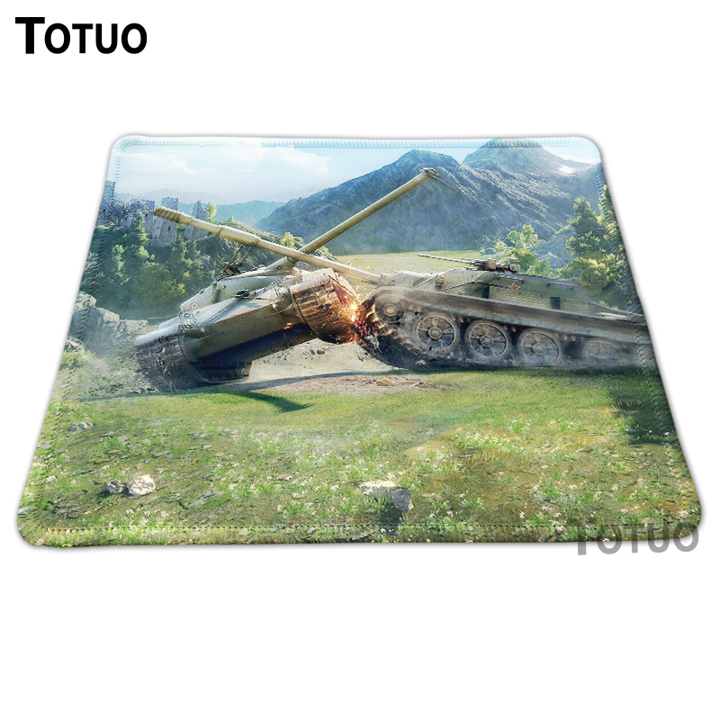 Hot Low Tank Background DIY Printing Pattern Desktop Pad Silica gel Mousepads Optical Computer Mouse Pads Durable Speed Mats <br><br>Aliexpress