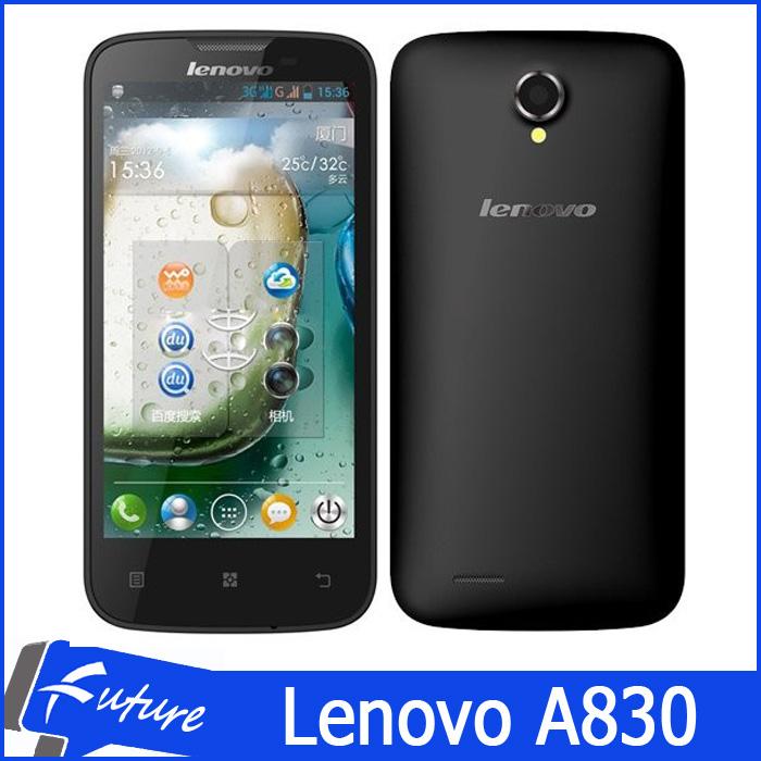 Original Lenovo A830 Android Smartphone Quad core MTK6589 3G WCDMA 5.0' IPS Retina Screen 8MP Camera Dual SIM Cell Phones(China (Mainland))
