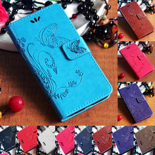 For Samsung Galaxy J1 J3 J5 J7 2016 J2 J1 Ace Flip Stand Hand String PU Leather Phone Case Card Slot Butterfly Wallet Cover Bag