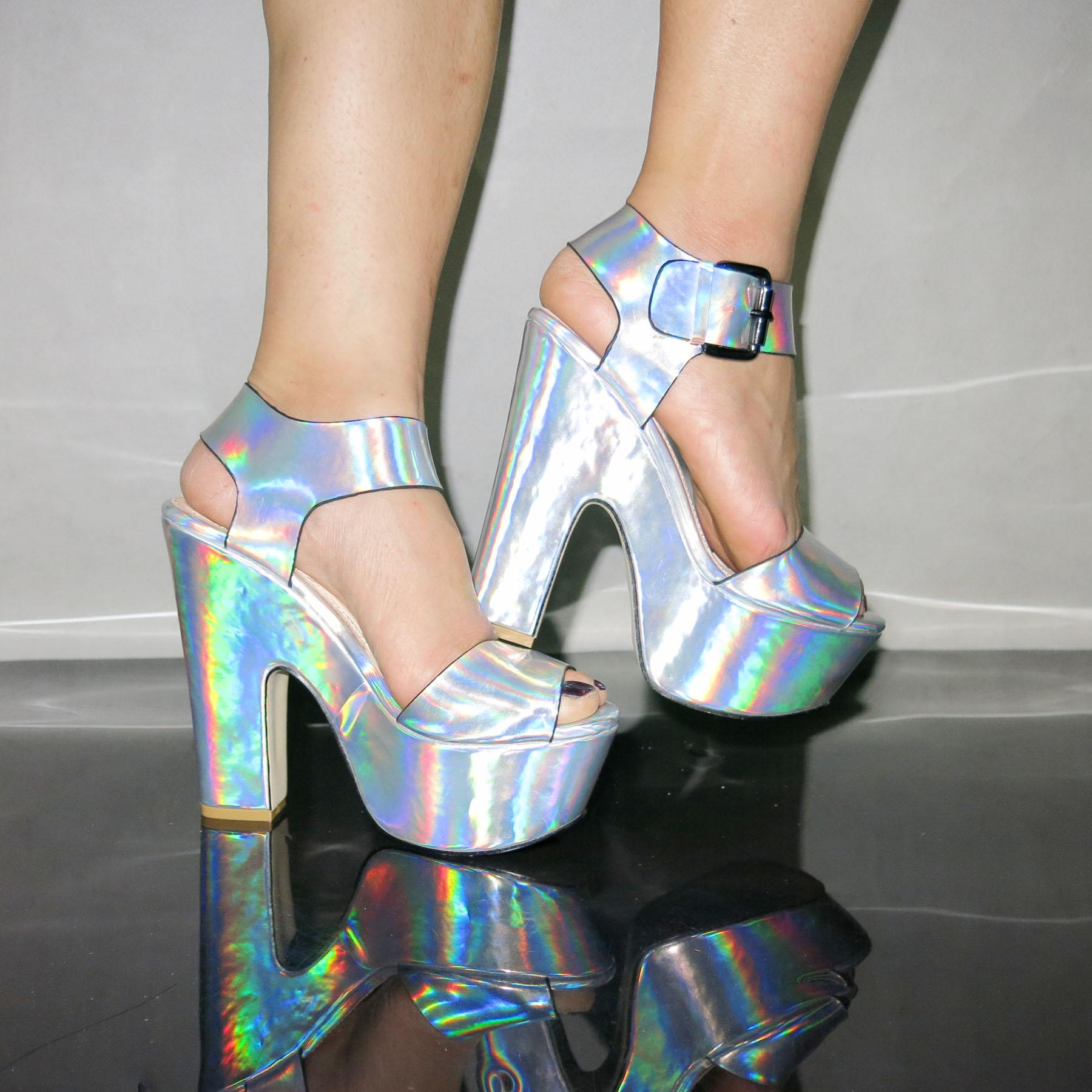 Chunky Platform Heels For Cheap