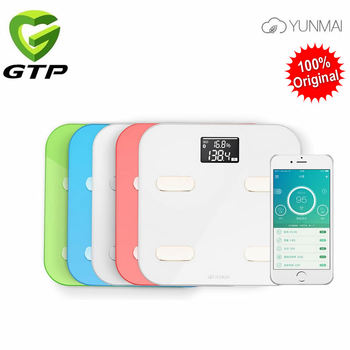 100% Original Yunmai Color Smart Scale Digital Weight Scale Body Fat Scale Health Scale Support Android4.3/ IOS7.0 Bluetooth 4.0