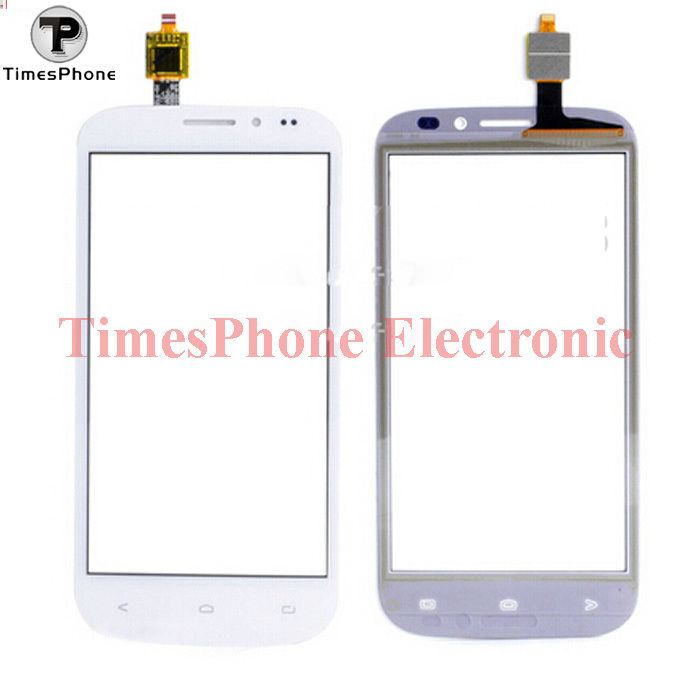 Factory Price Original White and Black LCD Touch Panel Digitizer Screen For FLY IQ4404 Digitizer Front Glass Lens Free Shipping