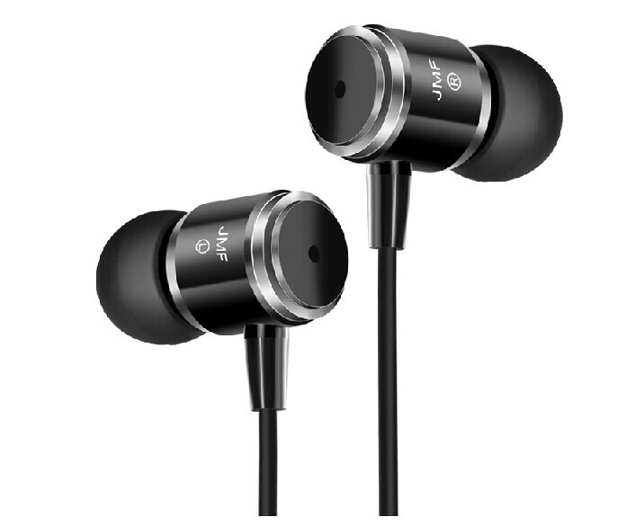 Wholesale - Original JMF 3.5mm Earphone Headphones For IPhone 6 5S 4 Samsung Xiaomi MP3 MP4 High quality Best Bass Free Shipping(China (Mainland))