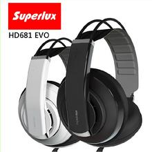 brand Superlux HD681 Series Professional Monitoring DJ Headphones noise isolating game headphone Studio Headphones(China (Mainland))