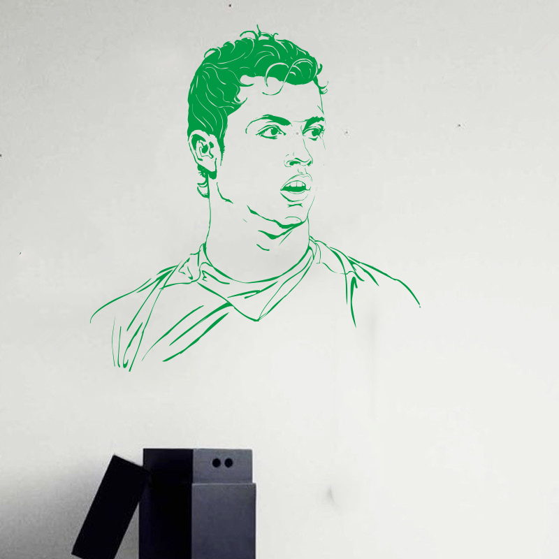 Popular cristiano ronaldo poster buy cheap cristiano for Cristiano ronaldo wall mural