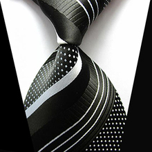 Striped Silk Men Ties Fashion Elegant Slim Neckties Ties For Men High Quality Gravata Formal Wedding Party Business Holiday Gift(China (Mainland))