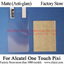 8x Matte Anti-glare LCD Screen Protector Guard Cover Film Shield For Alcatel One Touch Pixi Dual SIM 4007A 4007X 4007D 4007E