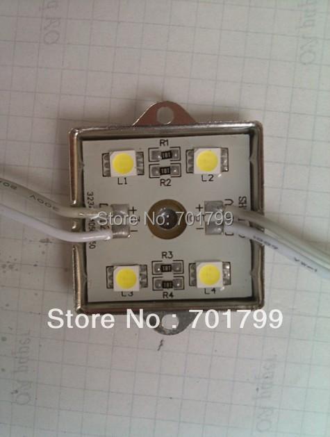 WARM WHITE 5050 SMD LED module,metal case;DC12V,20pcs a string