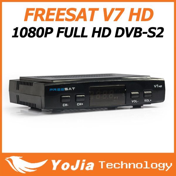 Original DVB-S2 Freesat V7 Satellite TV Receiver Support PowerVu Biss Key Cccamd Newcamd Youtube Youporn USB Wifi Set Top Box