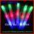 new 100pcs/lot 4*48cm multi color 3 modes customized logo led foam stick led foam baton glow stick for wedding party