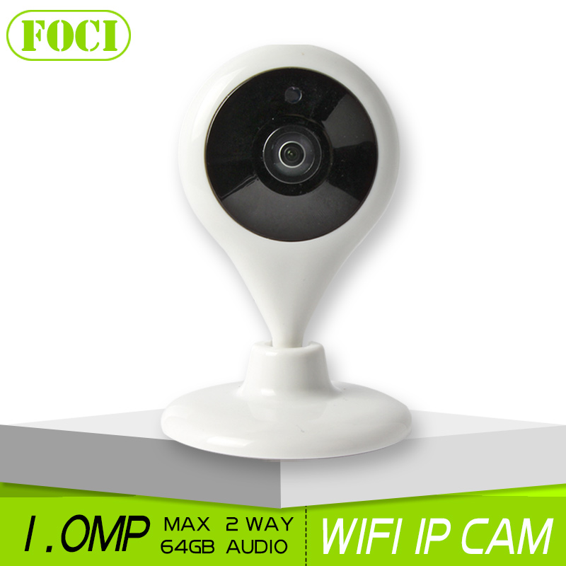 1.0MP Home Baby Monitor HD 720P WIFI IP Smart Camera Night Vision Two Way Audio Onvif P2P View CCTV Surveillance Security Camera(China (Mainland))