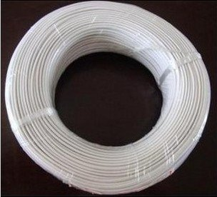 wire,50m,RJ11 Telephone Cable/Wire/Line--Round-White Telephone 4C flat cable(China (Mainland))