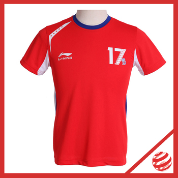 Lindan 17 Champions Commemorative T-shirt Gerd Farewell Match Special Edition  Badminton Professional Sport Tees  AAYH287