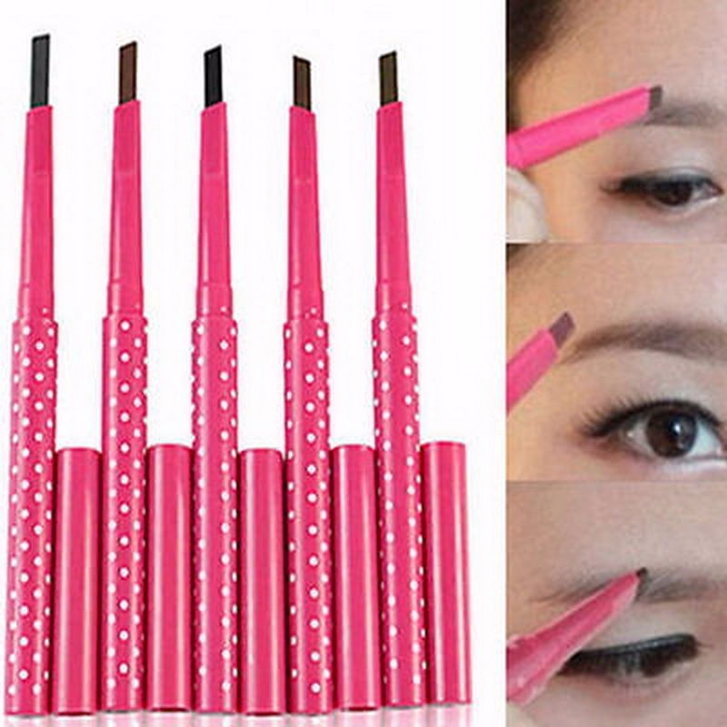 Beleza Maquiagem À Prova D' Água Lápis de Sobrancelha Lápis de Olhos Eye Brow Pó Ferramenta Cosméticos Novo
