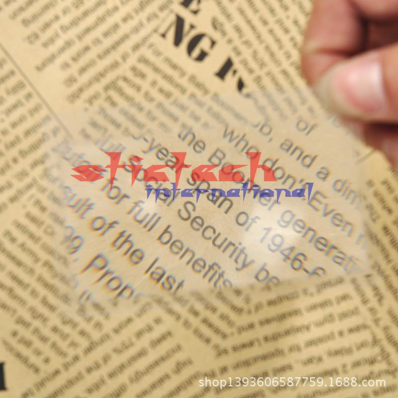 by dhl or ems 10000pcs Transparent credit card magnifying glasses 3x magnifier magnification magnifying fresnel LENS