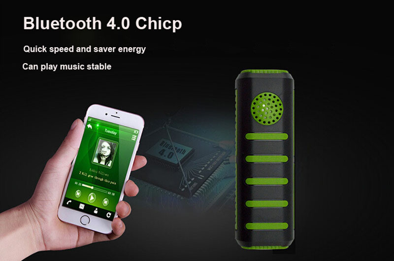 5600mAh Bluetooth Speaker Power Bank Portable Mini Computer Speaker Loudspeaker Rechargeable Battery for mobile phone & tablets