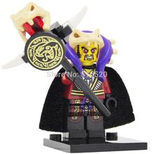 Ninja Master Chen Minifigures Single Sale Building Blocks Super Heroes Avengers Sets Model Bricks Toys Figures