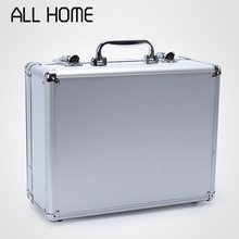 Tool Box Aluminum Briefcase Aluminum Toolbox Storage Box Tool Cases Storage Folder Computer Case Aluminum Lock Box(China (Mainland))