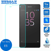 Sony Xperia E5 Tempered Glass Screen Protector 0.26mm 2.5D 9h Safety Protective Film F3311 F3313 (5.0 inchinch) - HHBO & K Case store