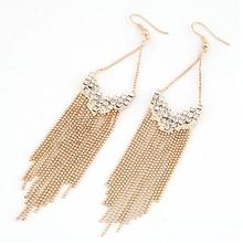 tassel Crystal Earrings  Fashion Earrings fashion accessory(China (Mainland))