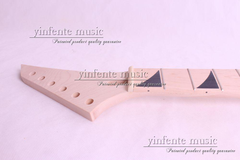 24 fret high quality Unfinished electric guitar neck maple made maple fingerboar<br><br>Aliexpress