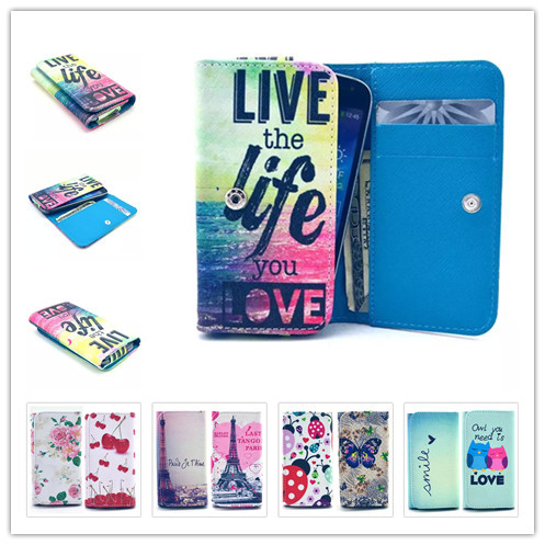 2015 Top Selling New Painting Leather Phone Cases For Samsung Galaxy V Plus Wallet Style With Card Slot Back Cover Case(China (Mainland))