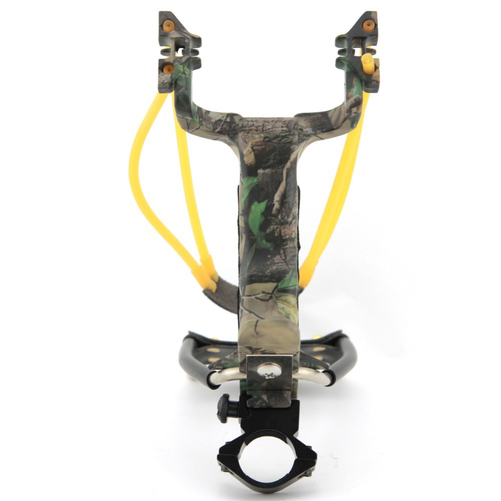 product Ballestas De Caza Li Xunhuan Goalkeeper Strong Power Outdoor Sports Spring Hunting Slingshot Tool Camouflage Heavy Bow Catapult