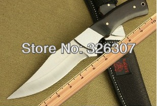 Straight Knife army knife survival folding knife sword mountain cutter tool camping military knife(China (Mainland))