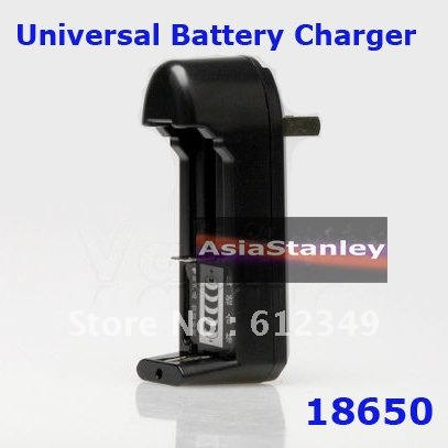 Universal Charger for Rechargeable Li-ion Battery 18650 AA AAA 14500 CR123A - USA Square Plug