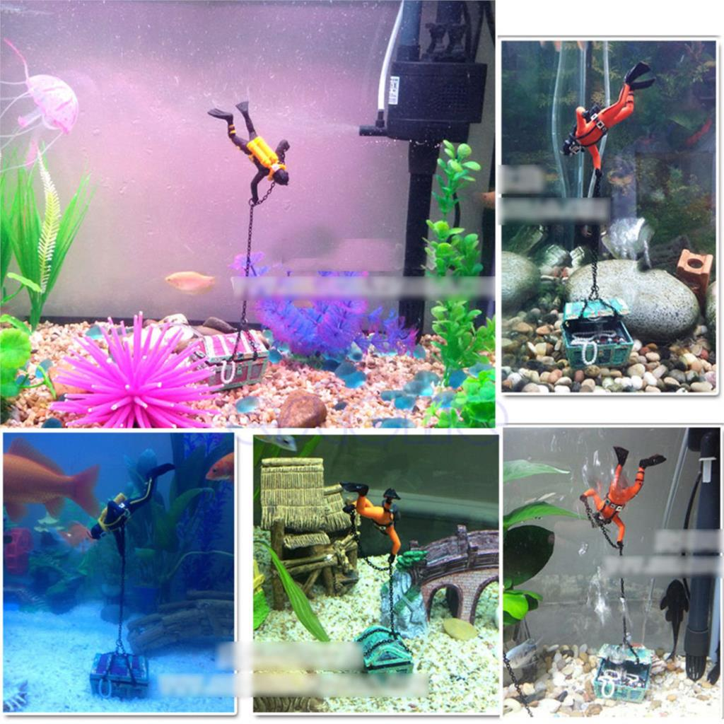 Fish tank decorations unique previous story how to for Aquarium decoration ideas cheap