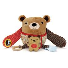 Baby Toys Plush Toys Kids Multifunctional Learning Education Dolls Kawaii Owl Design Stuffed Animals Free Shipping