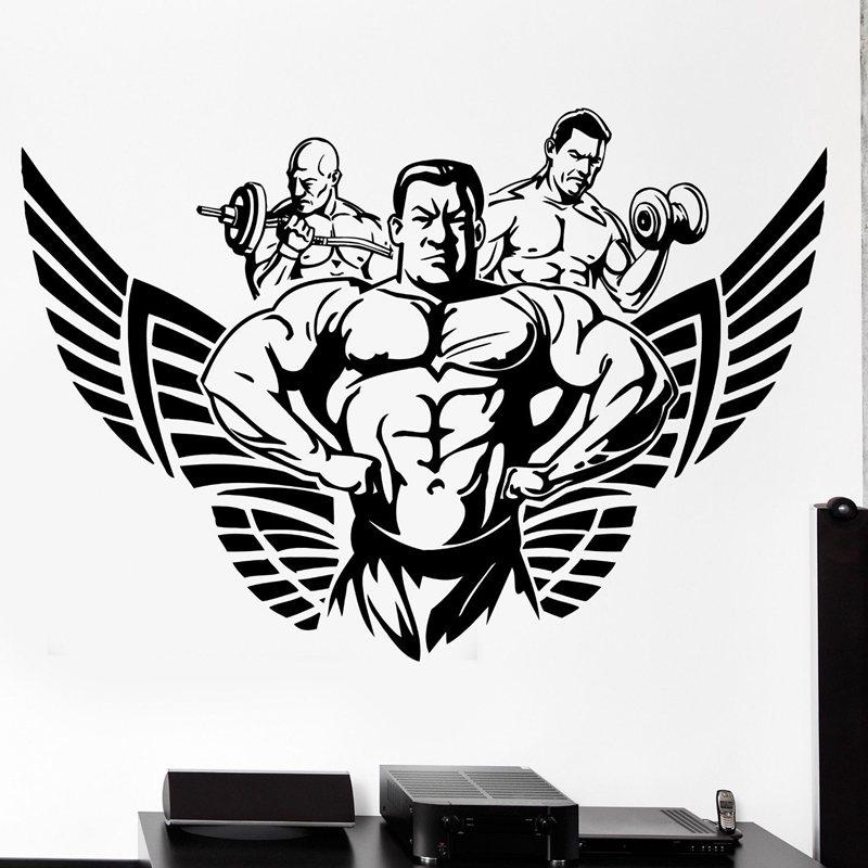 Achetez en gros fitness posters free en ligne des - Posters para gimnasios ...
