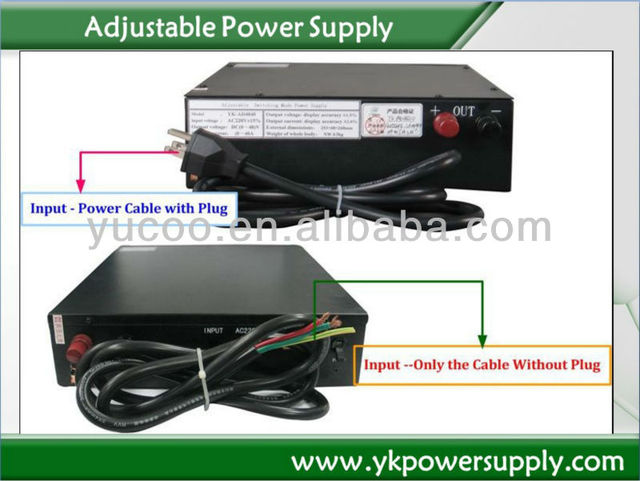 0-24VDC 0-80A Variable Voltage Power Supplies