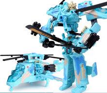 """Top Bán 19.5 Cm Mẫu Robot Biến Hình Xe Ô Tô Đồ Chơi Hành Động Nhựa Đồ Chơi Hành Động Hình Đồ Chơi Quà Tặng Tốt Nhất Cho Giáo Dục Trẻ Em 7.5""""(China)"""