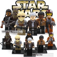 Star Wars 7 The Force Awakens Minifigures Star Wars Minifigures Kylo Ren With Star Wars Lightsaber BB-8 R2-D2 BB8 Toys(China (Mainland))