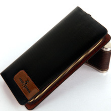 2015 New zipper bag long pu leather zipper wallet phone explosion package slim card PU leather