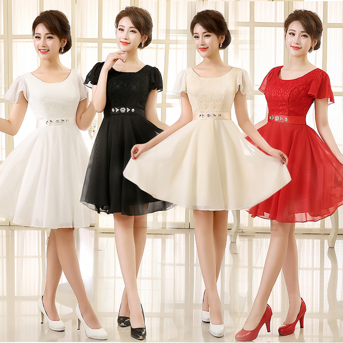 Black and Red Dress for Wedding Guest Promotion-Shop for ...
