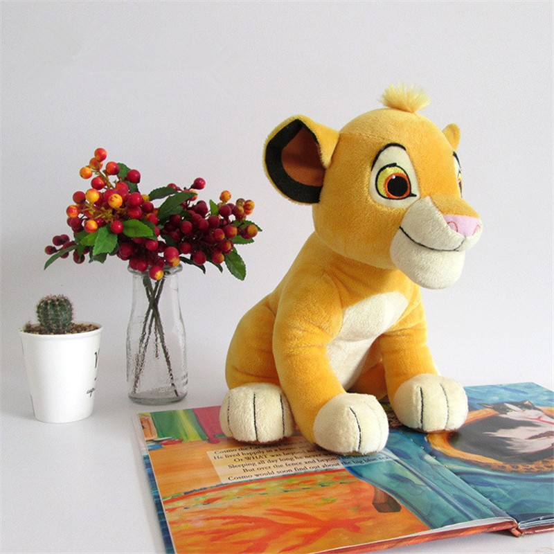 Movie Cartoon Plush Toys The Lion King Figures Simba Soft Stuffed Doll Kids Baby Children Kawaii Gift 26cm (2)
