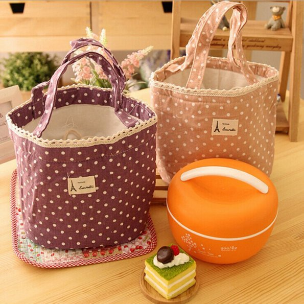New 4 Colors Portable Thermal Insulated Tote Pouch Cooler Lunch Box Storage Picnic Bag(China (Mainland))